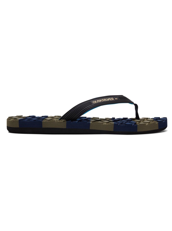 f31fe26492f5 1 Massage - Sandals for Men Black AQYL100637 Quiksilver