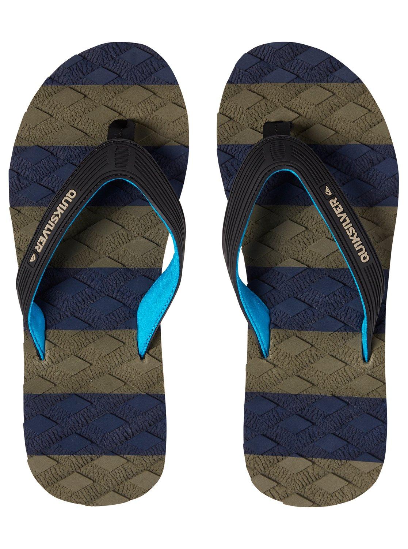 1d92bf890d89 2 Massage - Sandals for Men Black AQYL100637 Quiksilver