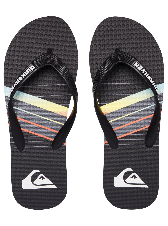 Molokai Core Slash Flip Flops Aqyl100684 Quiksilver