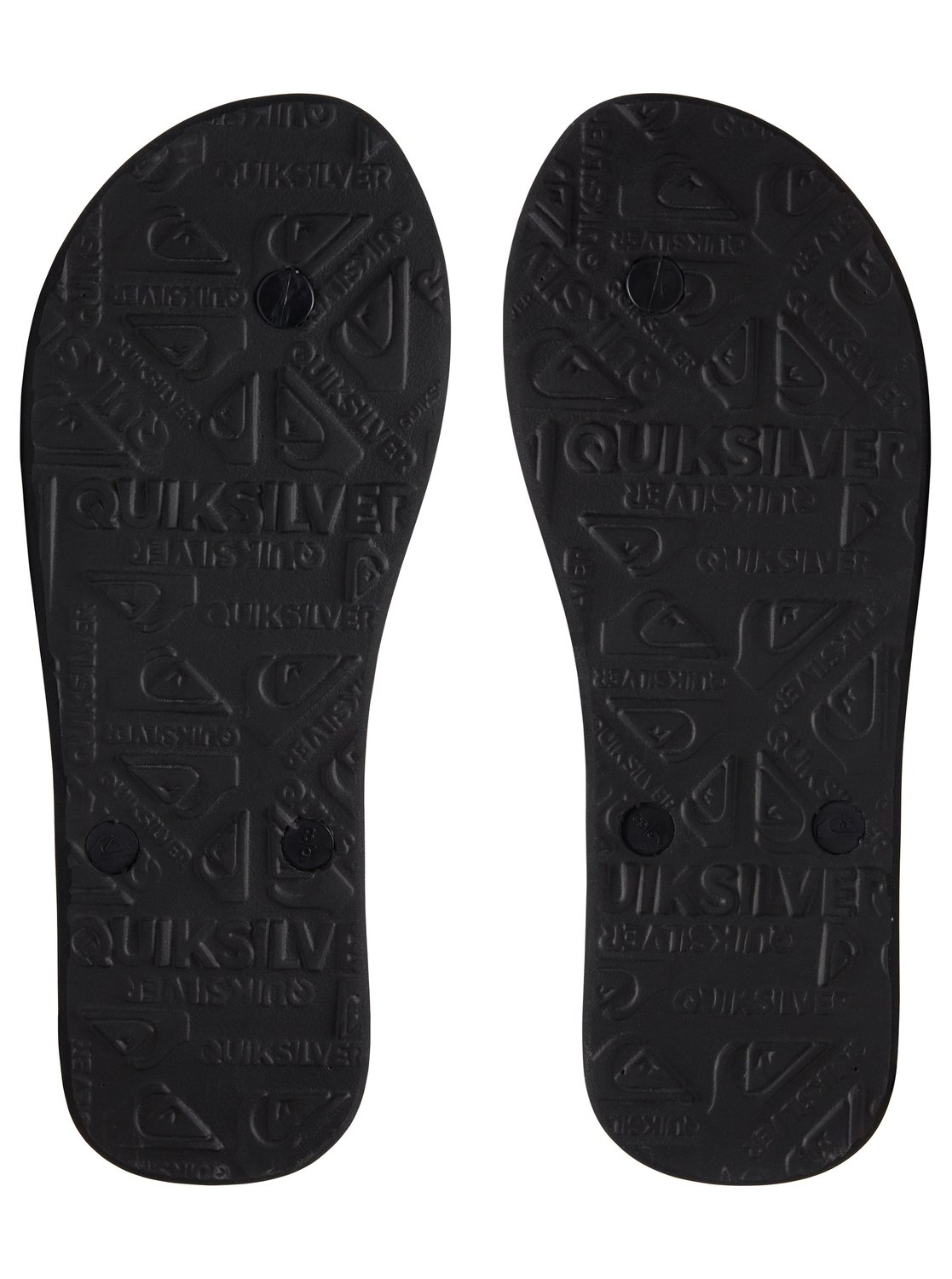 3 Molokai Wordblock - Flip-Flops for Men Black AQYL100788 Quiksilver dbaf4caef38