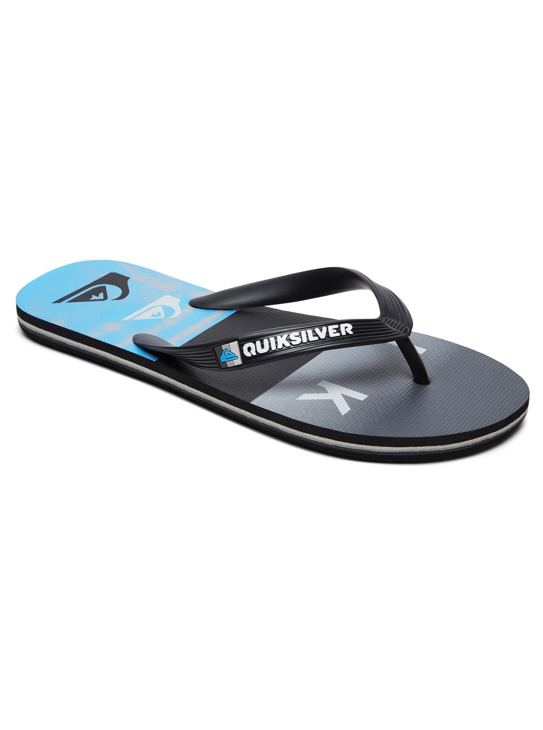 0 Molokai Wordblock - Flip-Flops for Men Black AQYL100788 Quiksilver c0c8f36db44