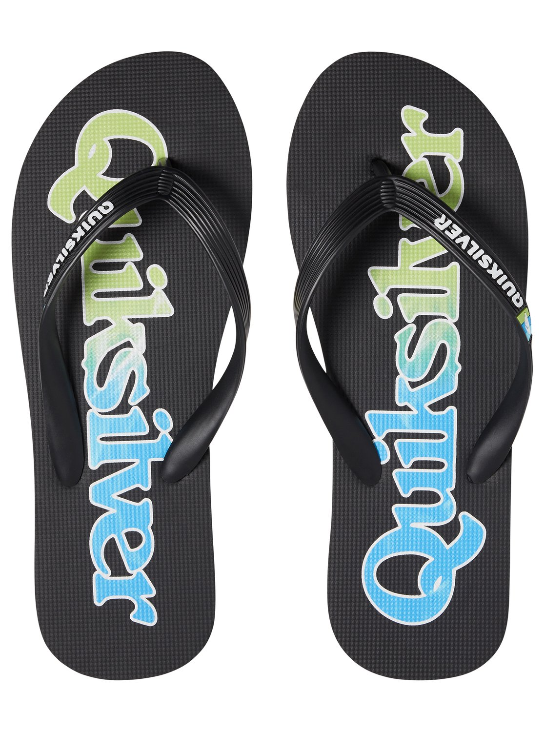 2 Molokai Wordmark Fineline - Flip-Flops for Men Black AQYL100810 Quiksilver ed36b59e8f8