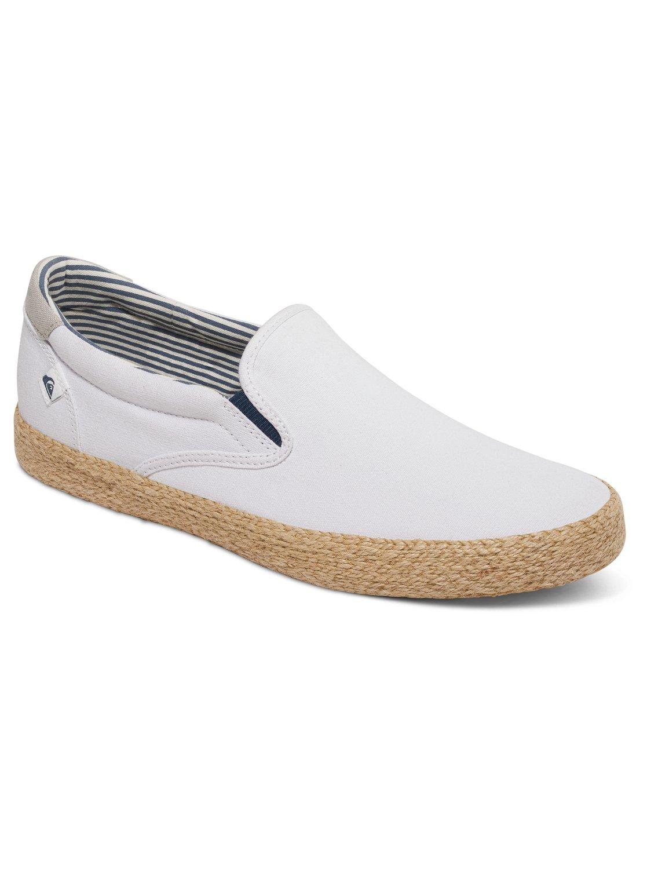 Quiksilver Shorebreak - Slip-On Shoes - Chaussures - Homme - EU 45 - Noir oZQde7trrE