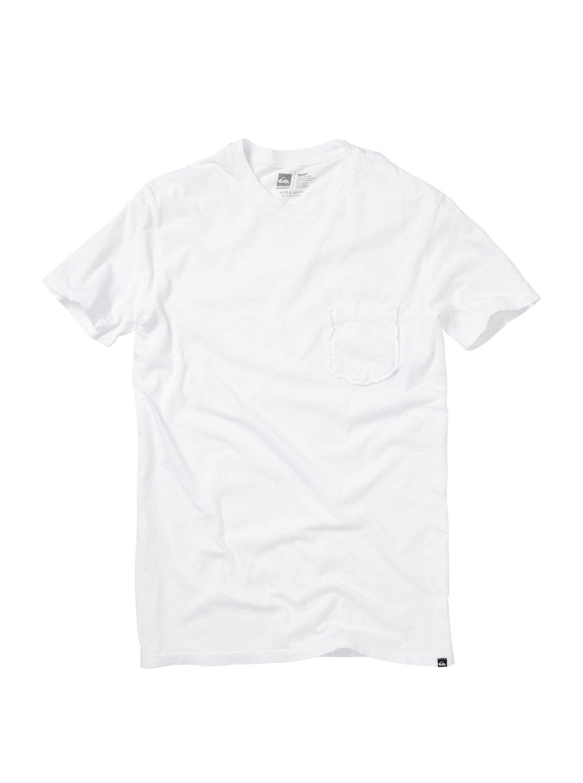 Blank Pocket Crew T Shirt Aqyzt00948