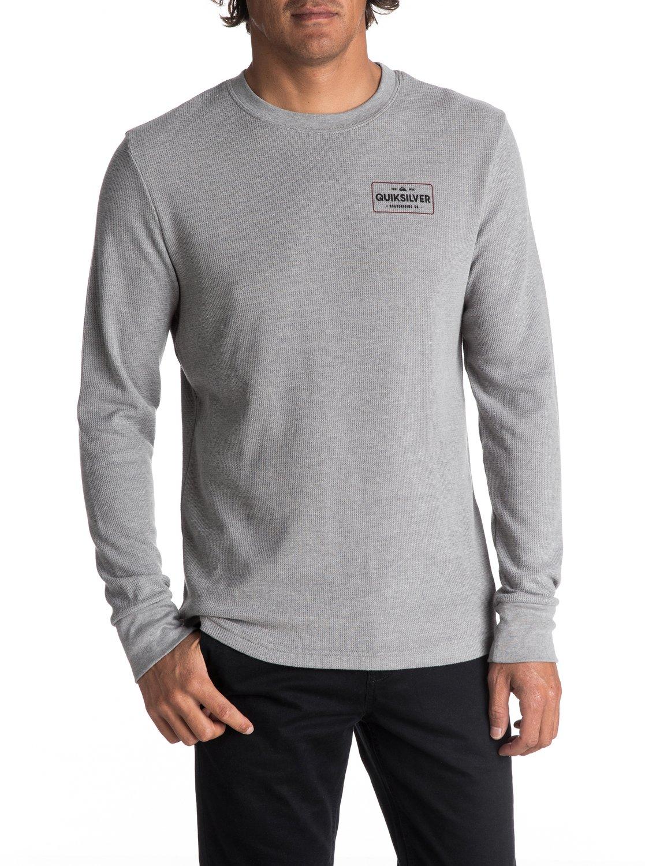 0 Hombres Camiseta Térmica de Manga Larga Detention AQYZT05050 Quiksilver 8f59ce8a4d0