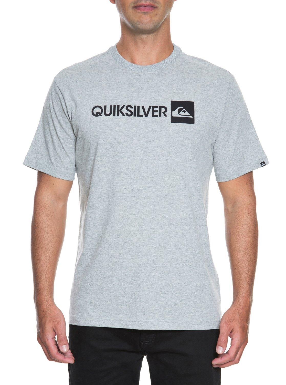 2 Camiseta básica masculina m c Institucional BR61113851 Quiksilver 131a2f9eede