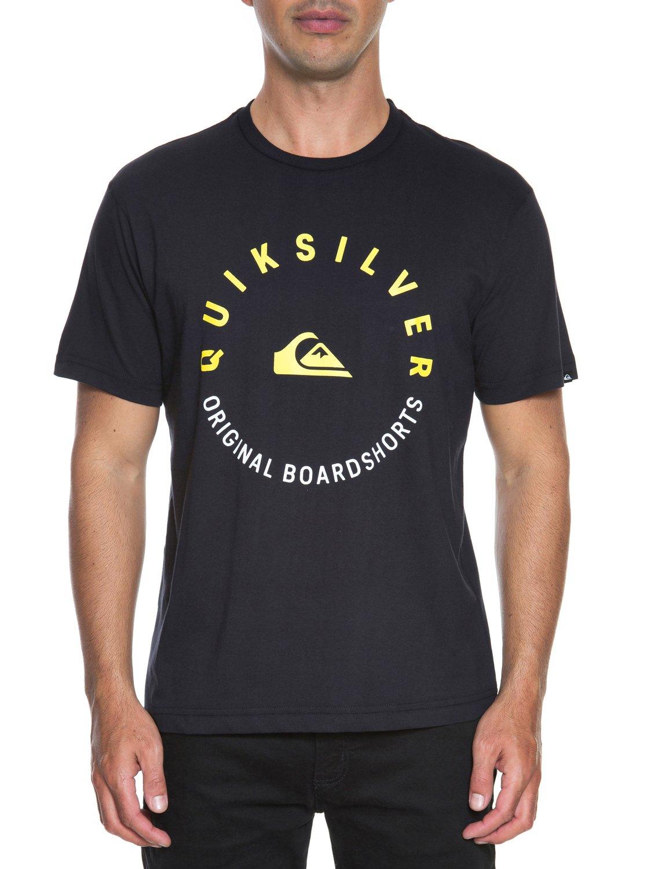 2 Camiseta básica masculina m c Jamaica Logo BR61113852 Quiksilver 939151b7536