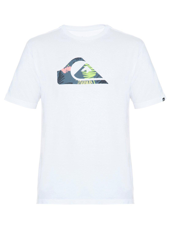 0 Camiseta básica masculina m c Floral Doodle BR61113873 Quiksilver 75b159b5414