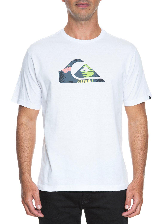 2 Camiseta básica masculina m c Floral Doodle BR61113873 Quiksilver c821041eda1