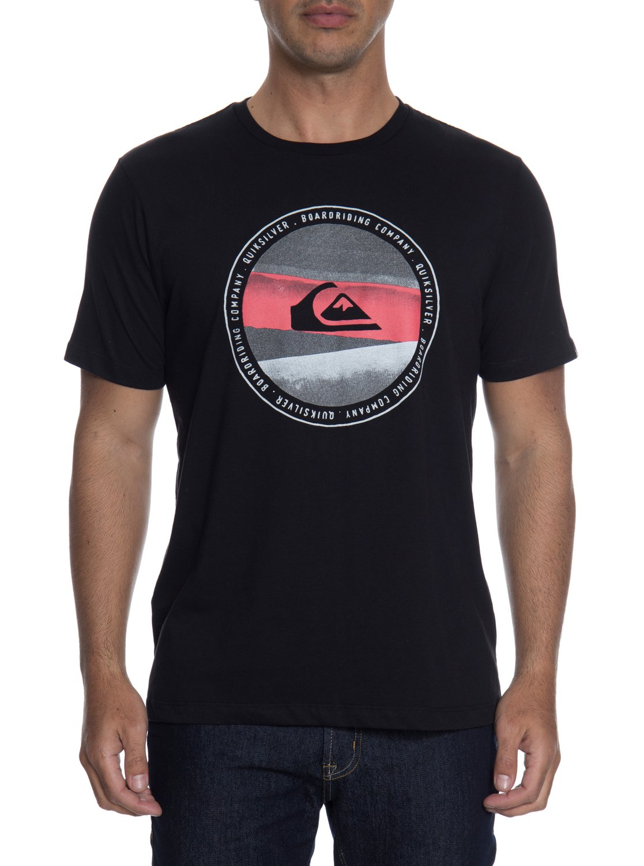 2 Camiseta Masculina Manga Curta Estampa Frontal Quiksilver BR61114294  Quiksilver b96b40d09dd