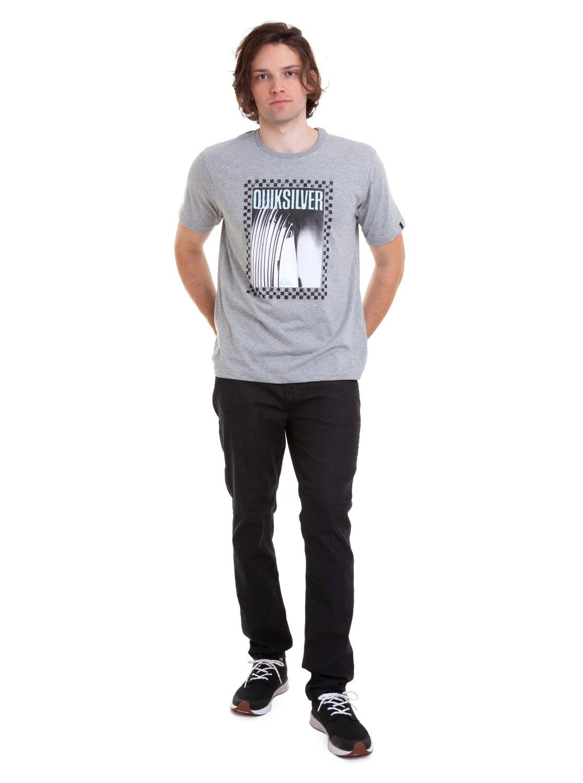 1 Camiseta Quiver Quiksilver Cinza BR61114691 Quiksilver 1c46abdf92a