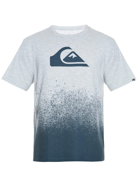 2d298389bb65d 0 Camiseta especial masculina Degradê Logo BR61142471 Quiksilver