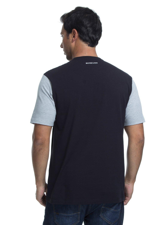 2 Camiseta Lycra Surf Tee Logo Quiksilver Preto BR61151050 Quiksilver 16e1e50d3abc5