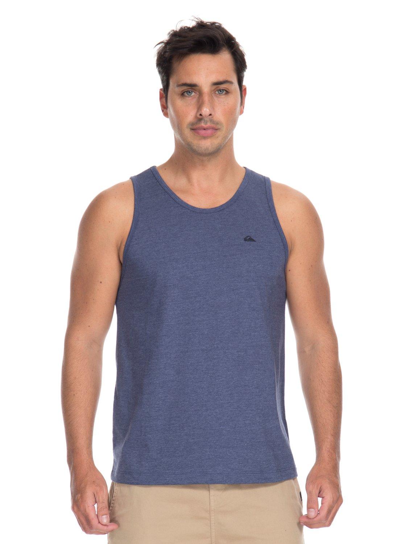 0 Camiseta Regata Básica Chest Quiksilver BR61231981 Quiksilver bef40386701