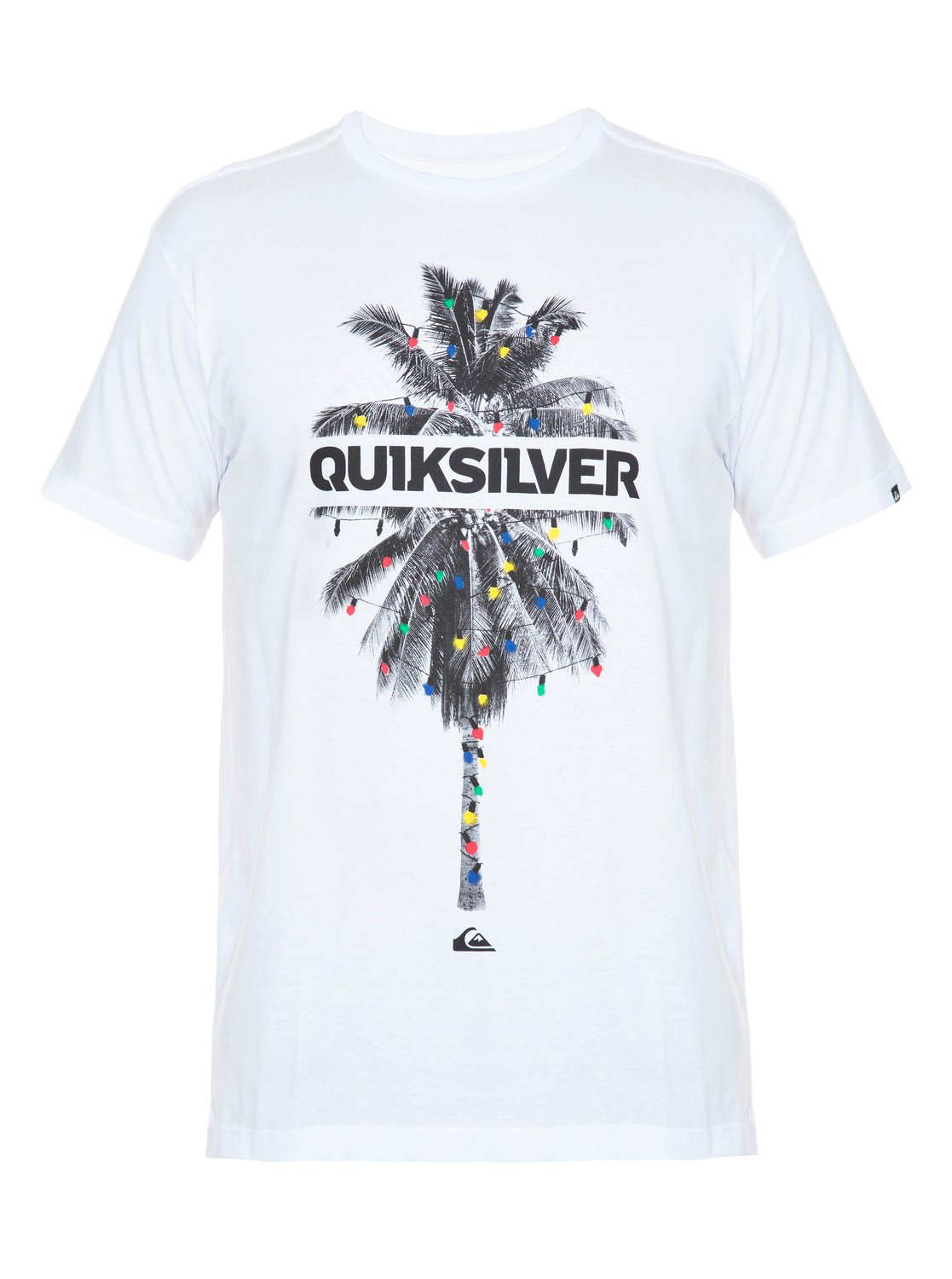 88b328e8d1dd3 0 Camiseta Slim Fit masculina Palm Lights BR61241448 Quiksilver