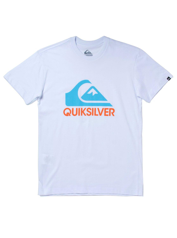 0 Camiseta m c masculina juvenil Institucional Branco BR68111889 Quiksilver 1400796803a