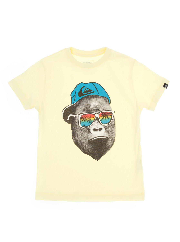 0 Camiseta básica infantil Monkey BR68111967 Quiksilver d2d7783cd57