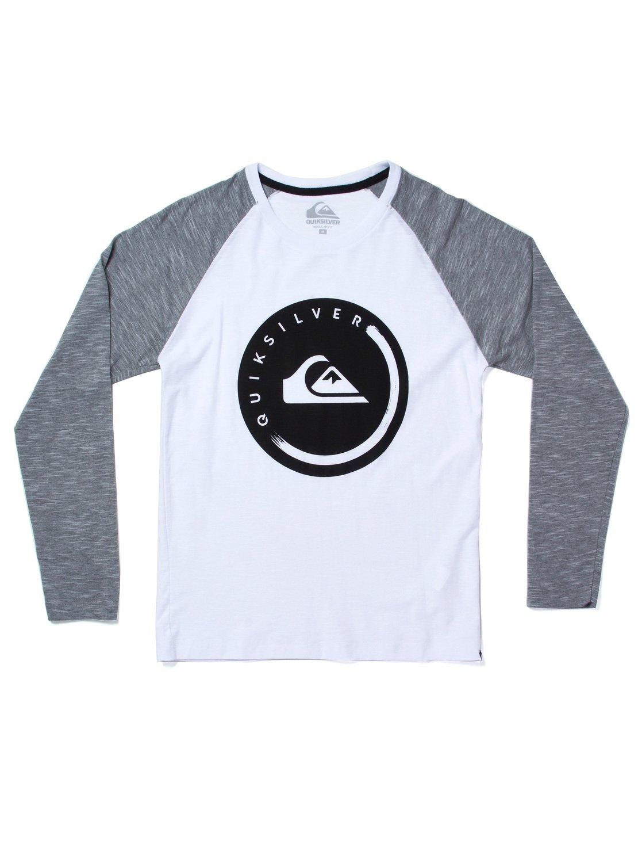 Camiseta masculina juvenil especial m l Gabu BR68201063   Quiksilver 044a9a9619