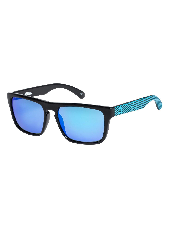 Quiksilver Shoreline - Sunglasses - Sonnenbrille - Männer - ONE SIZE - Schwarz mJysCgZ
