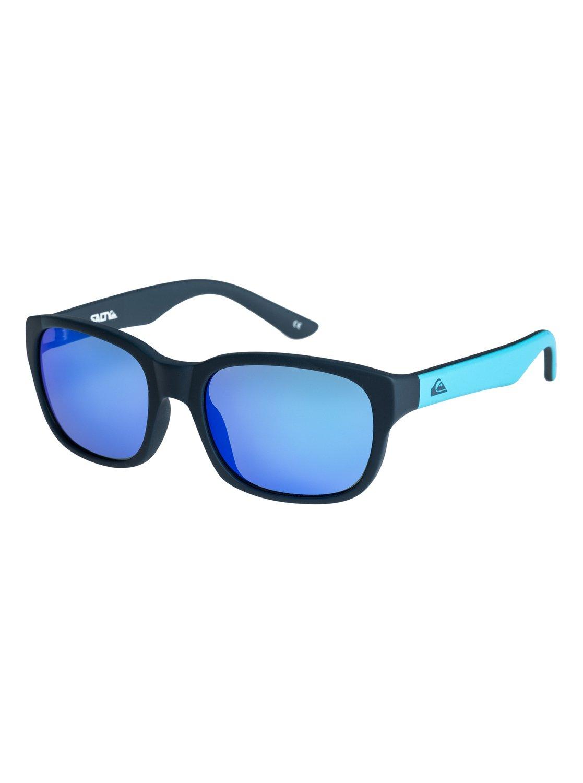 0 Salty - Lunettes de soleil pour Garçon 2-7 ans Bleu EQBEY03000 Quiksilver a22394377c05