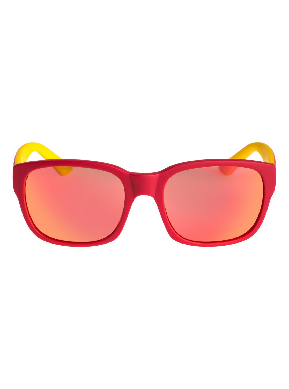1 Salty - Lunettes de soleil pour Garçon 2-7 ans Rouge EQBEY03000 Quiksilver bec345ddd02c
