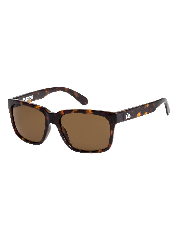 Quiksilver Sonnenbrille »Player«, braun, Matte brown/ brown