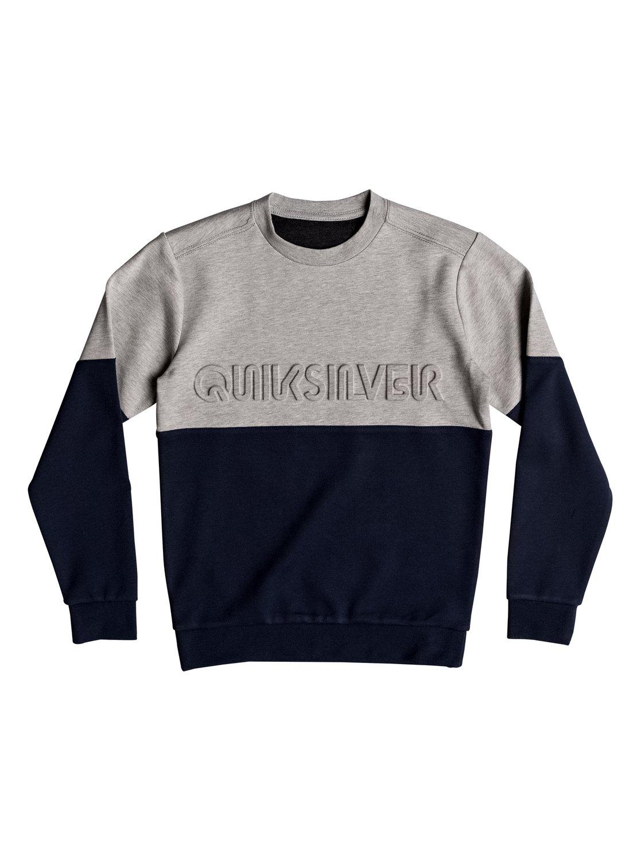 Saafin - Sweatshirt pour Garçon - Bleu - QuiksilverQuiksilver