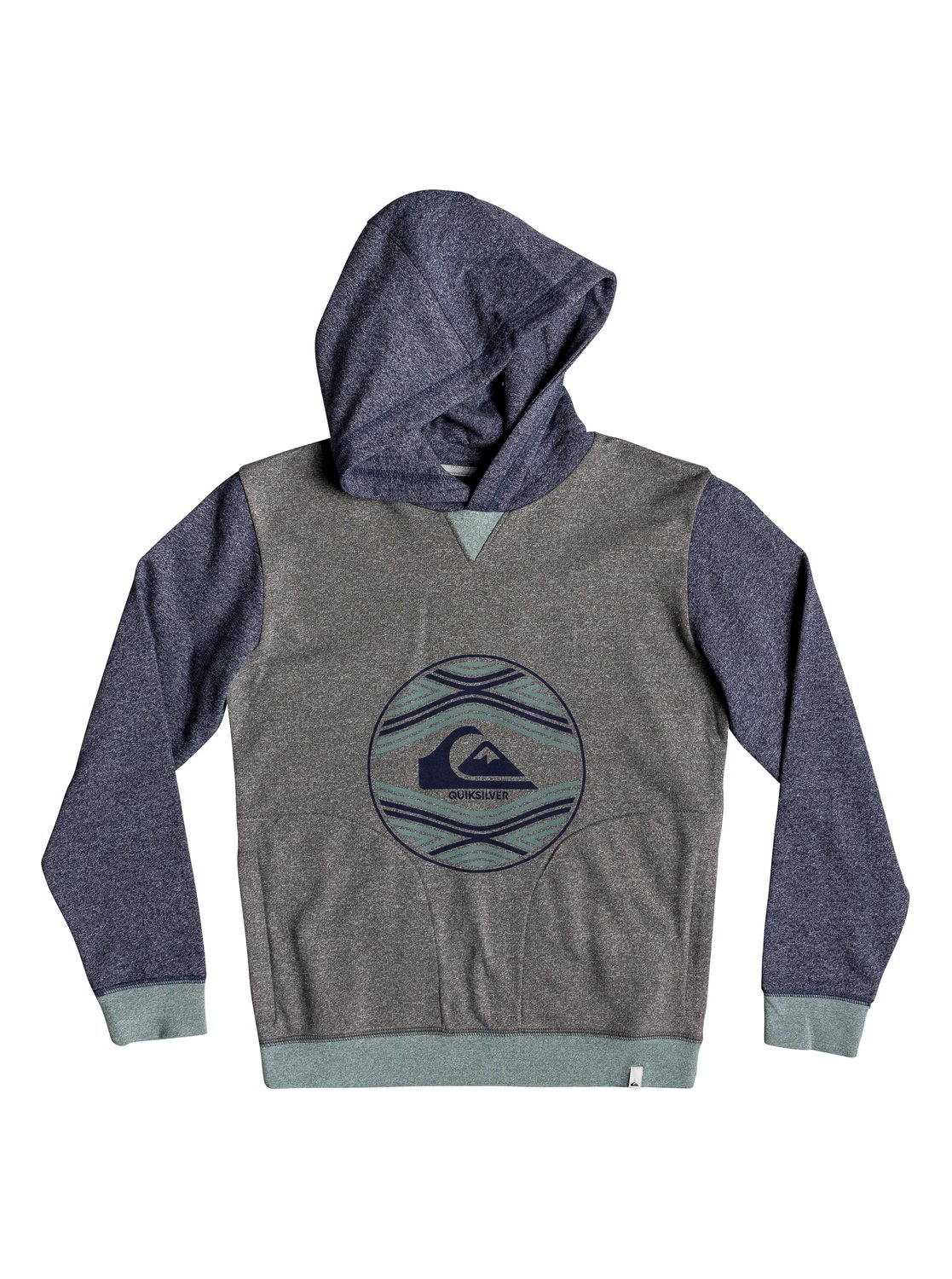 a5deed1bd22b 0 Project Planet - Hoodie for Boys 8-16 Blue EQBFT03499 Quiksilver
