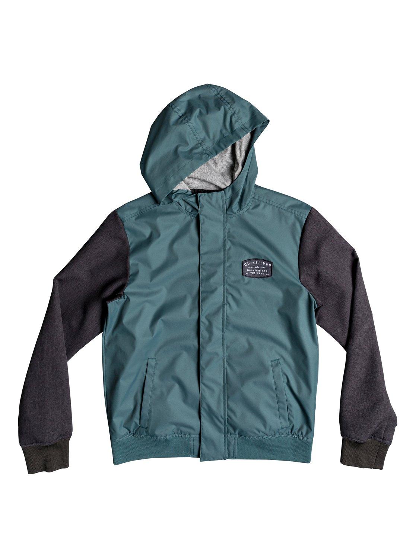 0 Куртка Visuka Зеленый EQBJK03143 Quiksilver 94935b398dd