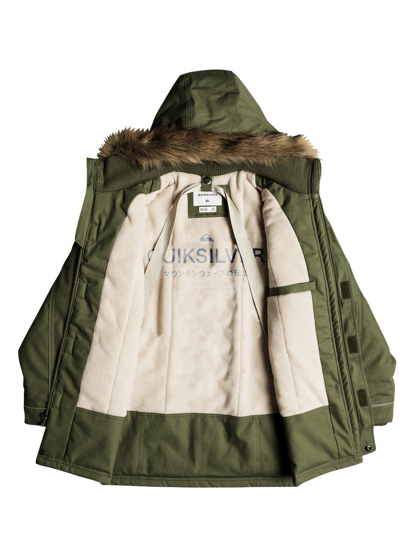 11e671760 Tottori - Waterproof Hooded Parka for Boys 8-16 EQBJK03151
