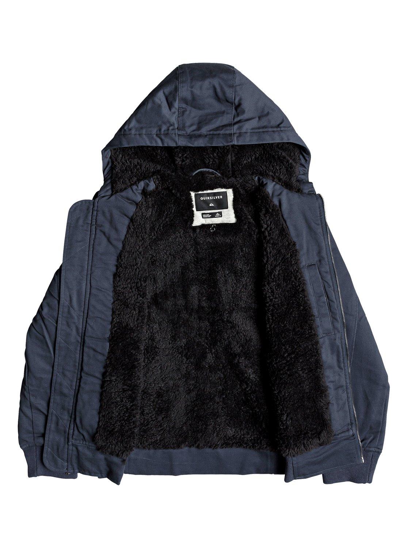 9df68ee97db5 Hana Go - Water-Resistant Hooded Jacket for Boys 8-16 EQBJK03155 ...