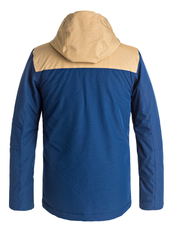 1 Сноубордическая куртка Raft Синий EQBTJ03056 Quiksilver 40aba7524af