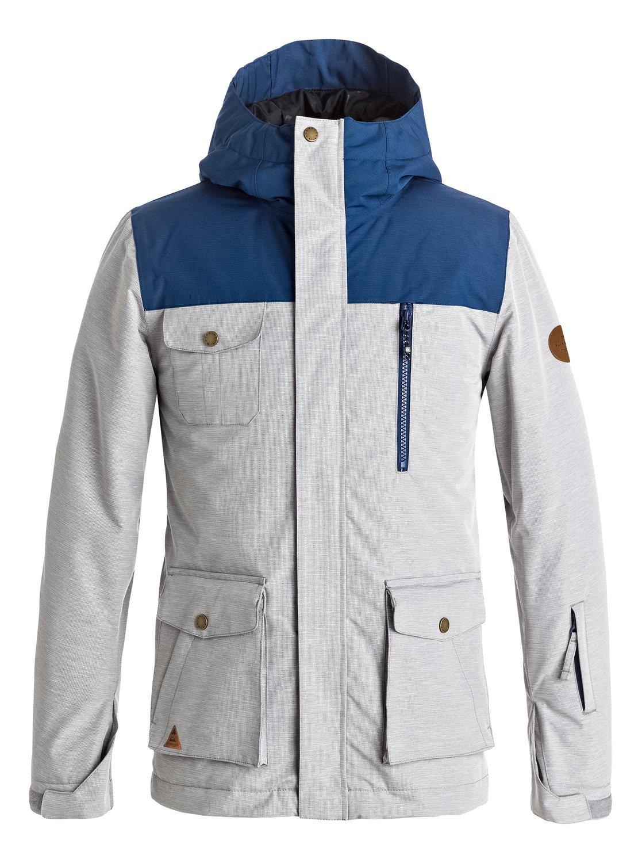 Raft Snow Jacket For Boys 8 16 Eqbtj03056 Quiksilver
