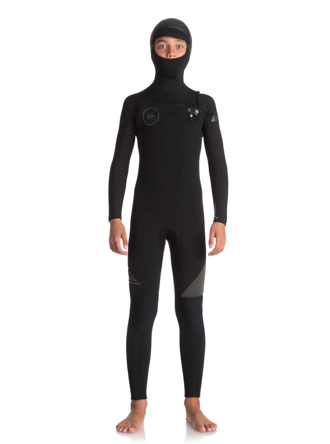 Boy s 8-16 5 4 3mm Syncro Series Hooded Chest Zip GBS Wetsuit ... 40882233670