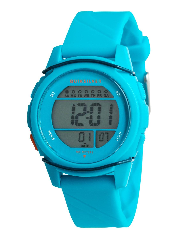 07654d203dd850 0 Stringer S - Montre digitale pour garçon 8-16 ans Bleu EQBWD03004  Quiksilver