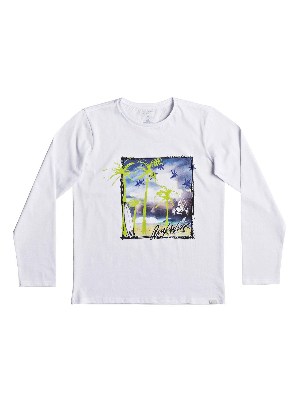 096bdb3312cef 0 Classic Pihi Wiki - T shirt manches longues pour Garçon 8-16 ans Blanc