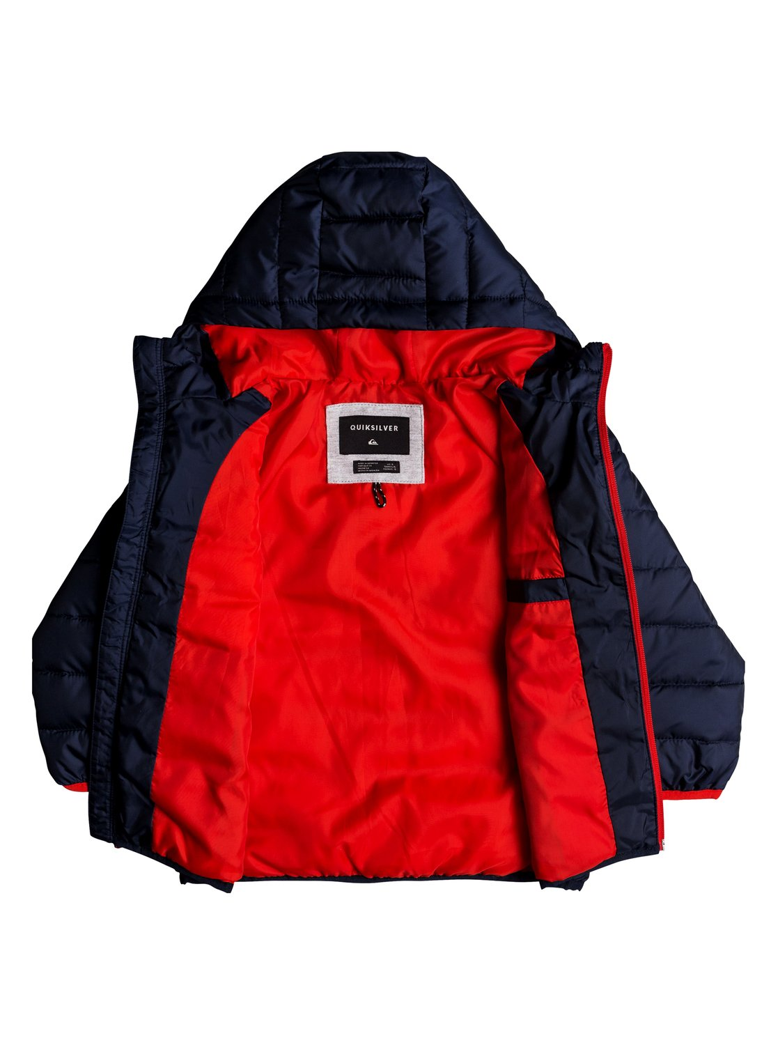 4b92abaa36d8f 1 Scaly - Water-Resistant Puffer Jacket for Boys 2-7 Blue EQKJK03090  Quiksilver