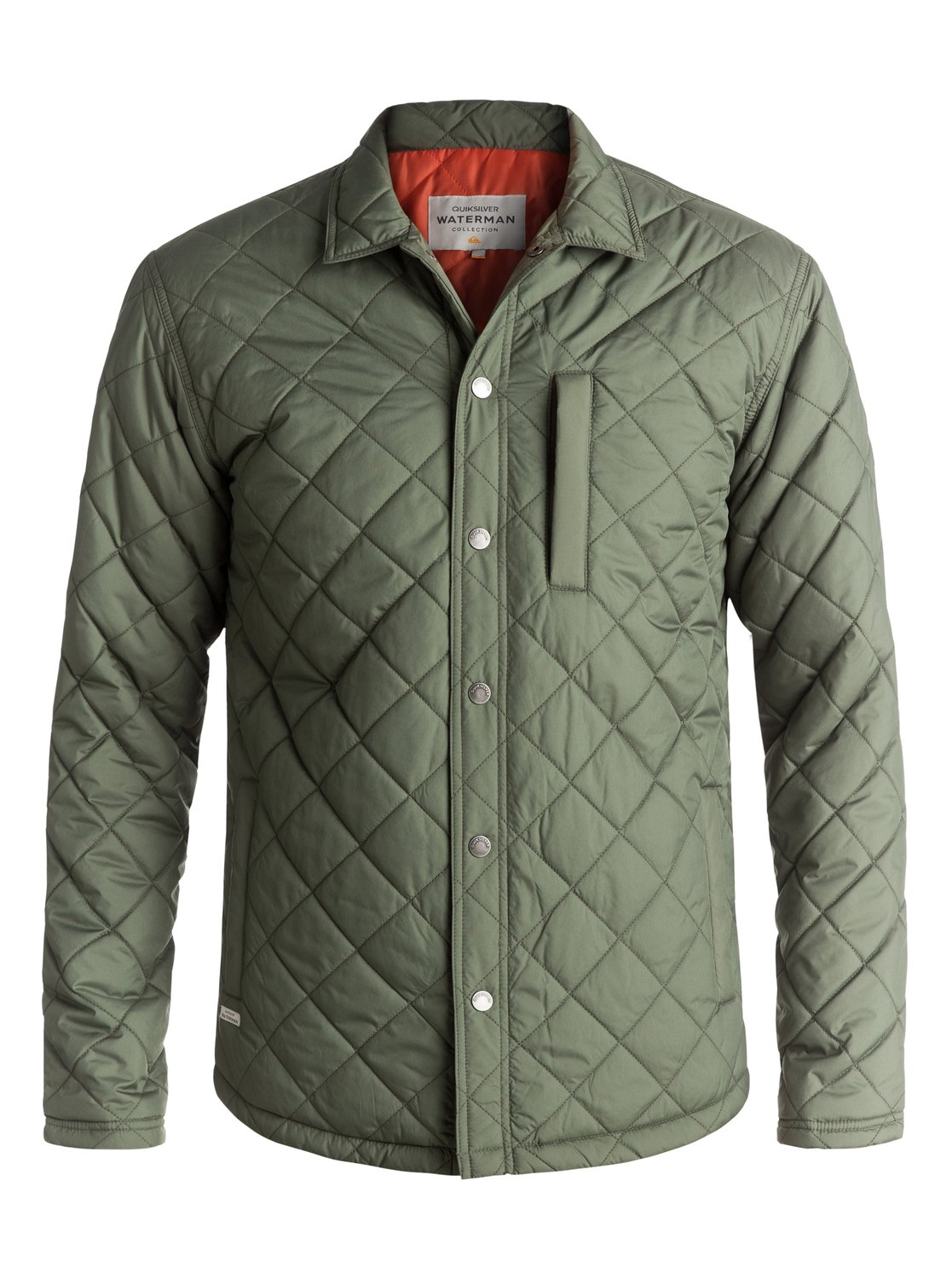 Quiksilver Waterman Mens Puffed up Quilted Jacket Beetle L Tax | eBay : mens quilted shirt - Adamdwight.com