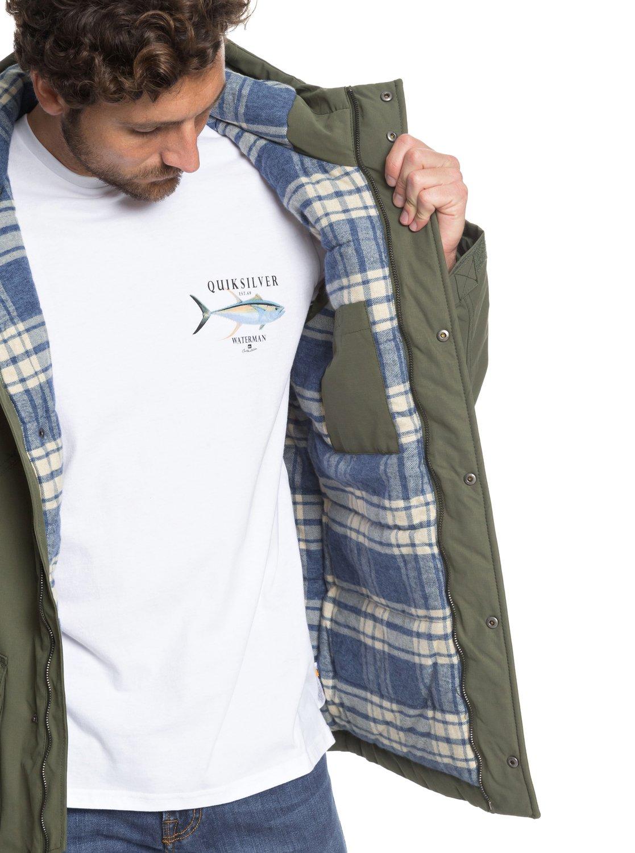 Quiksilver-Waterman-Weather-Manteau-impermeable-a-capuche-pour-Homme