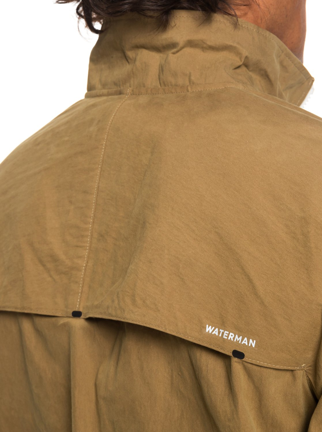 2 Waterman Good Weather - Chaqueta Corta-Viento Encerada para Hombre Marron  EQMJK03021 Quiksilver 38703a26b33b
