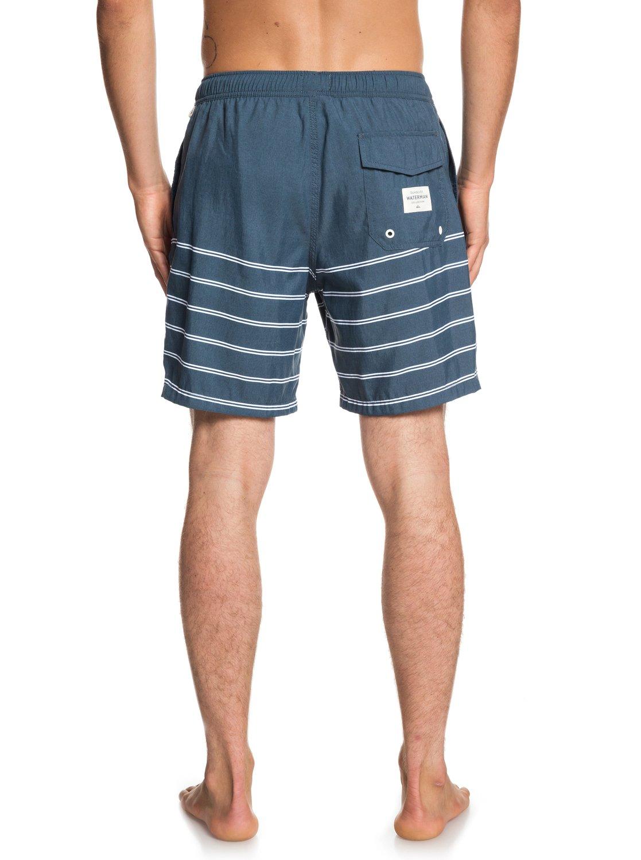 pour 2 EQMJV03046 Bleu Quiksilver bain Homme Sundowner Short 18 de Waterman BYqBvF