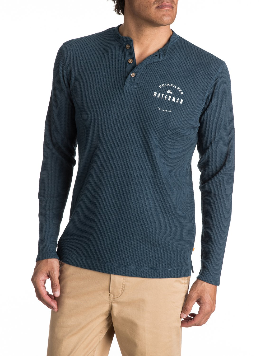 wholesale dealer 2dc82 828a7 Waterman Thermal Creeks - Thermo-Langarm-Henley T-Shirt für ...