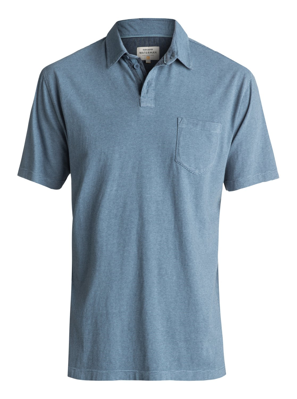Quiksilver-Waterman-Strolo-Polo-Shirt-Camiseta-Tipo-Polo-Hombre