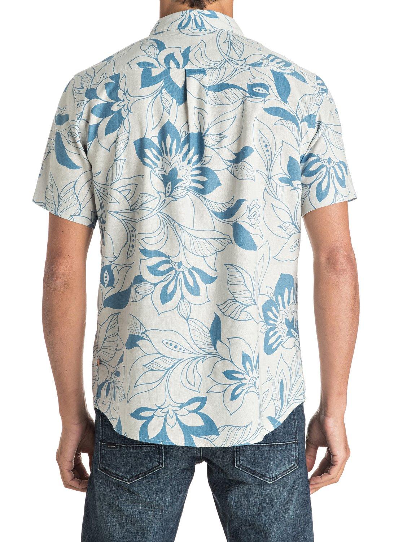 Quiksilver-Waterman-Abundance-Short-Sleeve-Shirt-Hombre