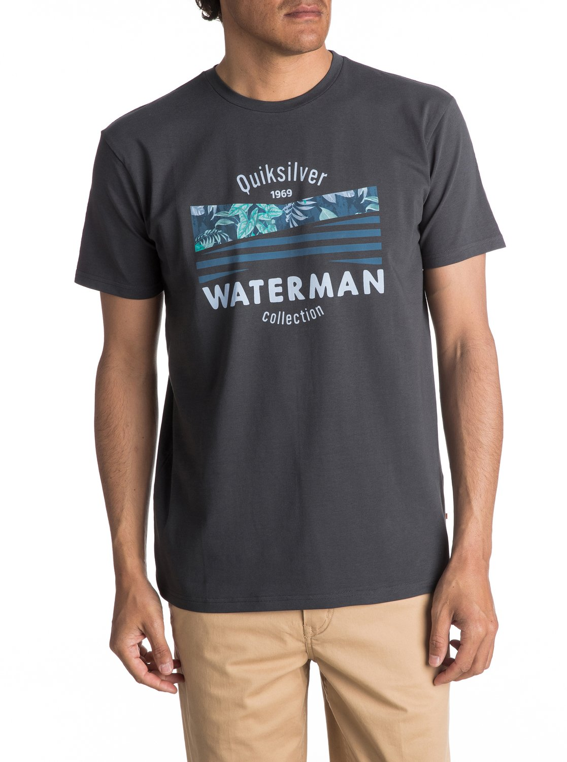 c1cc442688a 0 Waterman Point Logo - T-Shirt for Men EQMZT03020 Quiksilver