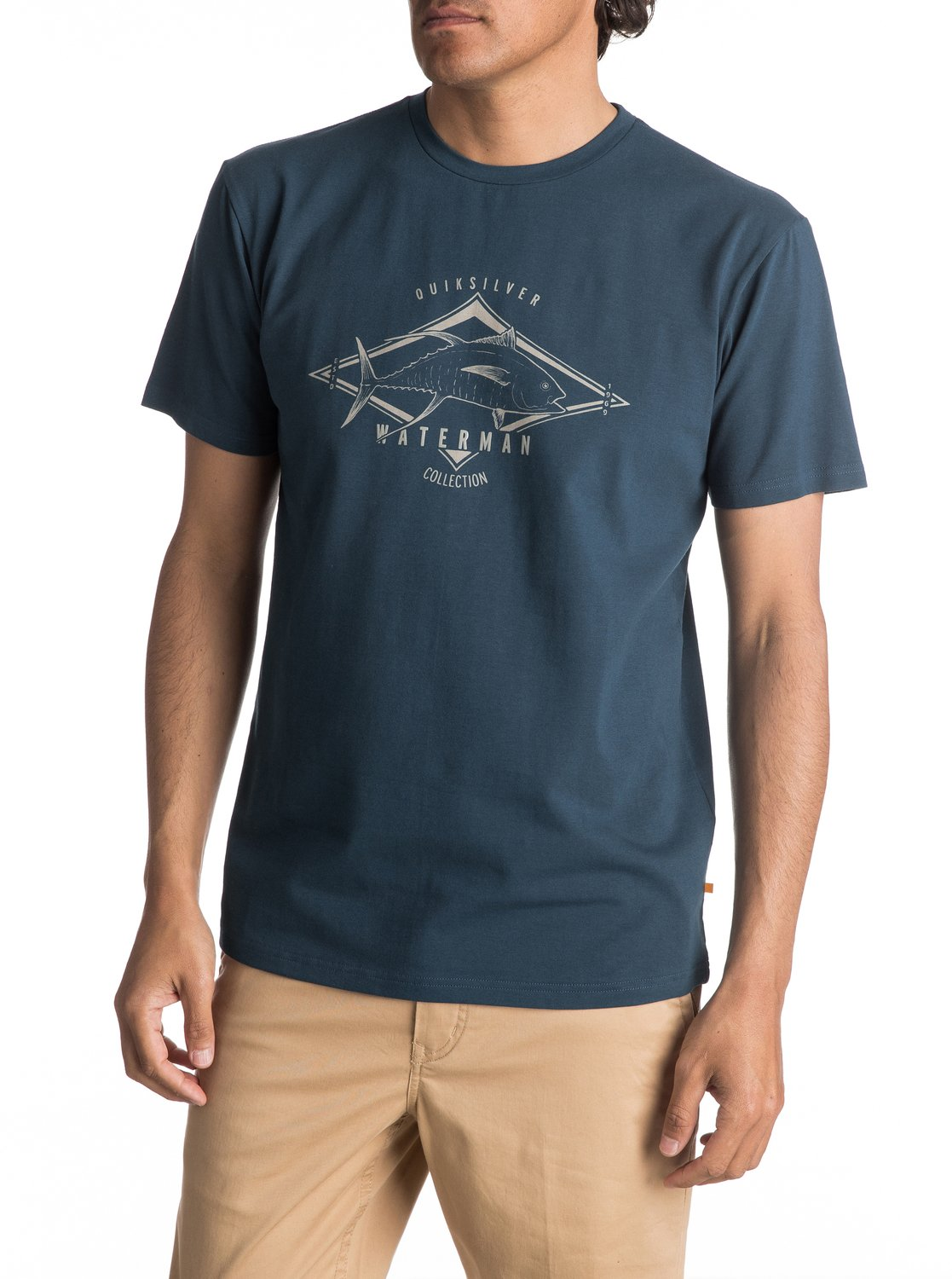 476c4d39fa2 0 Waterman High Thon - T-Shirt for Men Blue EQMZT03039 Quiksilver