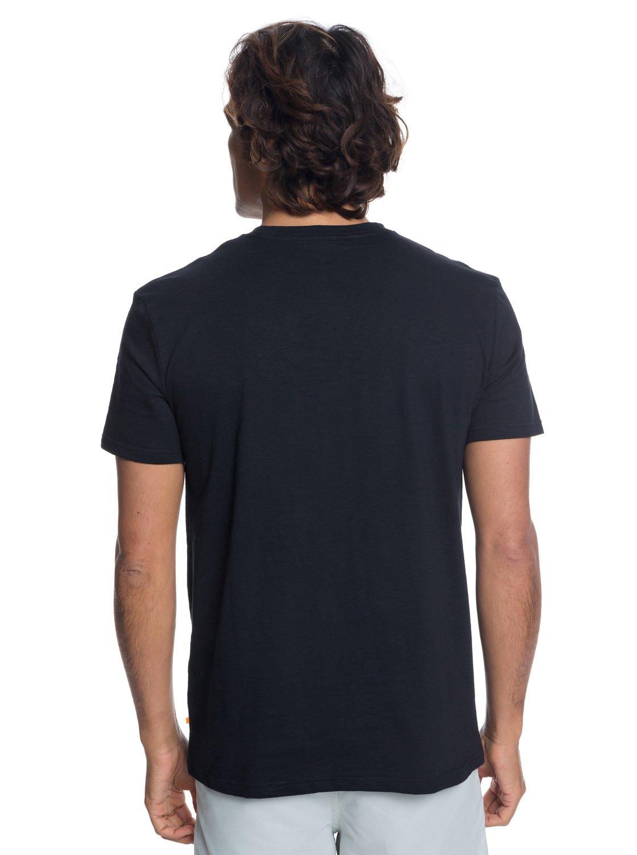 2 Waterman Back To Nature - T-Shirt for Men Black EQMZT03121 Quiksilver 61b0dd23eec