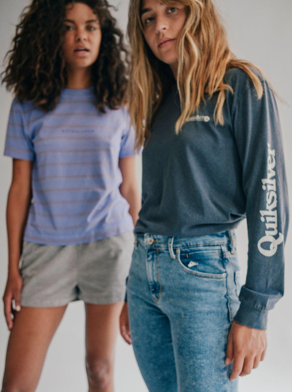 6 Quiksilver Womens - Jean skinny taille haute pour Femme Bleu EQWDP03000  Quiksilver fe542f6144d
