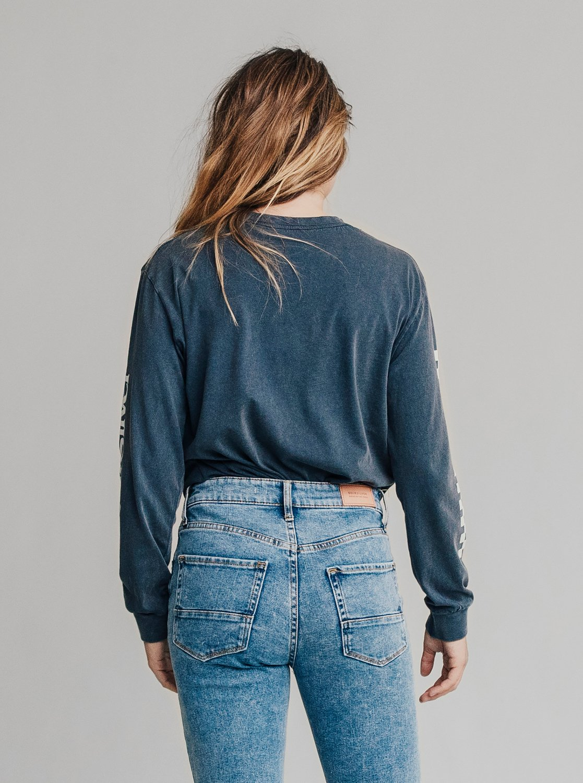 3 Quiksilver Womens - Jean skinny taille haute pour Femme Bleu EQWDP03000  Quiksilver 3fbc0b1eb6a