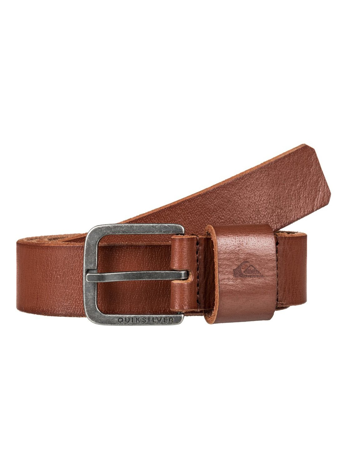 02e9f809eb4b1 Slimelt - Leather Belt for Men EQYAA03553   Quiksilver